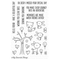 My Favourite Things Sweet Forest Friends Stamp Set