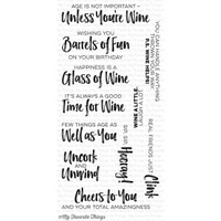 My Favourite Things Uncorked Stamp Set