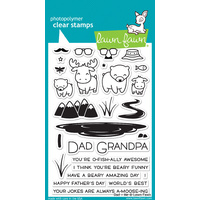 Lawn Fawn Dad + Me Stamp Set