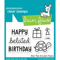 Lawn Fawn Year Two Stamp Set