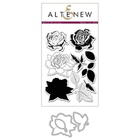 Altenew Bold Blossom Die and stamp bundle
