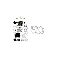 Altenew Bells and Bows Die and stamp bundle