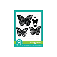 Reverse Confetti Butterfly Dreams Stamp Set