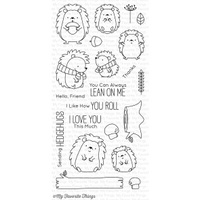 My Favourite Things Happy Hedgehogs Stamp Set