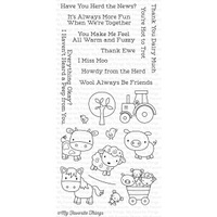 My Favourite Things Farm Friends Stamp Set