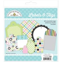Doodlebug Kitten Smitten Label & Tags