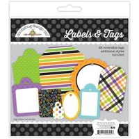 Doodlebug Boos & Brews Label & Tags