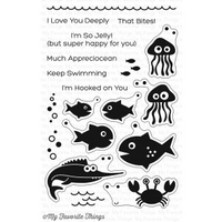 My Favorite Things Ocean Fun Stamp Set