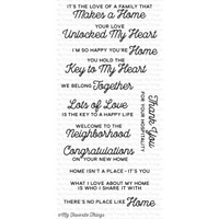 My Favorite Things No Place Like Home Stamp Set