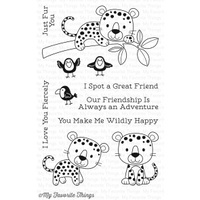 My Favorite Things Loveable Leopards Stamp Set