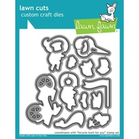 Lawn Cut Lawn Fawn Bicycle built for you Die