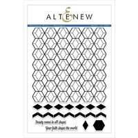 Altenew Pattern Play - Hexagon Stamp Set