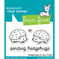 Lawn Cut Lawn Fawn Hedgehugs stamp