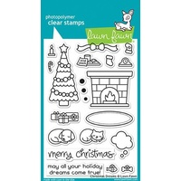 Lawn Fawn Christmas Dreams Stamp Set