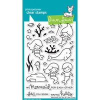 Lawn Fawn clear stamp Mermaid for you