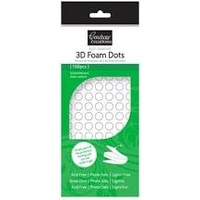 Couture Creations 3D Foam Dots 152pcs