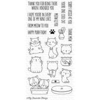 My Favorite Things Cool Cat Stamp Set