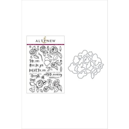 Altenew Bamboo Rose Die and Stamp Bundle