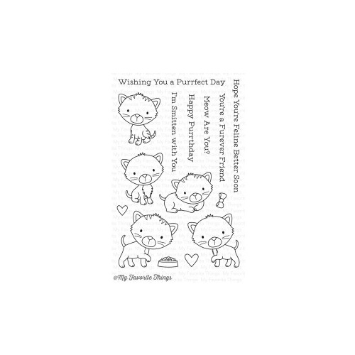 My Favorite Things Smitten Kitten Stamp Set