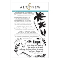 Altenew Wings of Hope Stamp Set