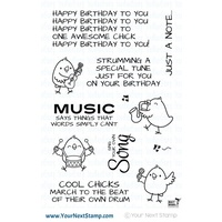 Your Next Stamp Music Chicks Stamp Set