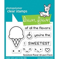 Lawn Fawn Sweetest Flavor Stamp Set