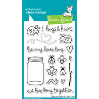 Lawn Fawn Bugs and Kisses Stamp Set