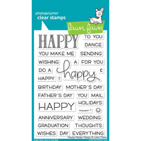 Lawn Fawn Happy Happy Happy Stamp Set