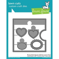 Lawn Fawn Reveal Wheel Square Add-On Die