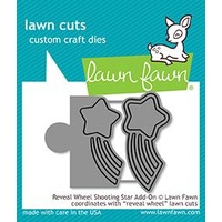 Lawn Fawn Reveal Wheel Shooting Star Add-On Die