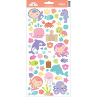 Doodlebug Cardstock Stickers Under the sea