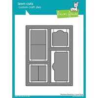 Lawn Fawn PeekAboo Backdrop Die Set