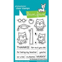 Lawn Fawn So Owlsome Stamp Set