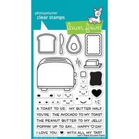 Lawn Fawn Lets Toast Stamp Set