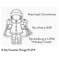 My Favorite Things Holiday Cheer Stamp Set