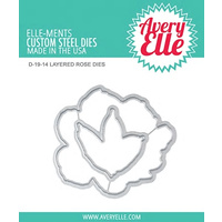 Avery Elle Layered Rose Die Set