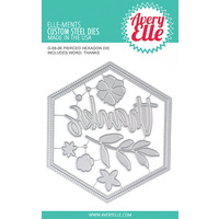 Avery Elle Pierced Hexagon Die Set