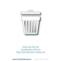 Your Next Stamp Trash Can Die Set