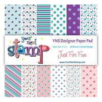 "Your Next Stamp 6"" x 6"" Paper Pad Assorted Designs"