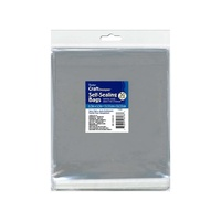 "Darice Self Sealing Clear Bags 6.5"" x 6.5"" 50 Pack"