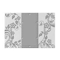 Couture Creations A4 Embossing Folder - Leaves