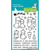 Lawn Fawn Winter Skies Stamp Set