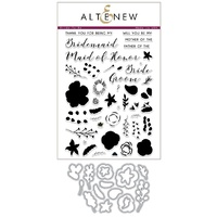 Altenew Bride To Be Stamp & Die Bundle
