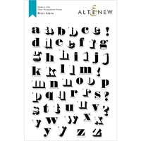 Altenew Block Alpha Stamp Set