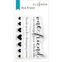 Altenew One Friend Stamp Set