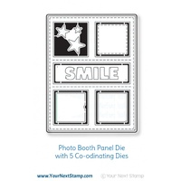 Your Next Stamp Photo Booth Panel Die Set