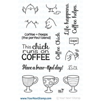 Your Next Stamp Coffee Chick Stamp Set