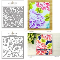 Altenew Layered Dahlia (A) & (B) Stencil Bundle