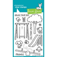 Lawn Fawn Let's Play Stamp Set