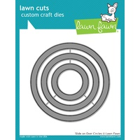Lawn Fawn Slide on Over Circles Die